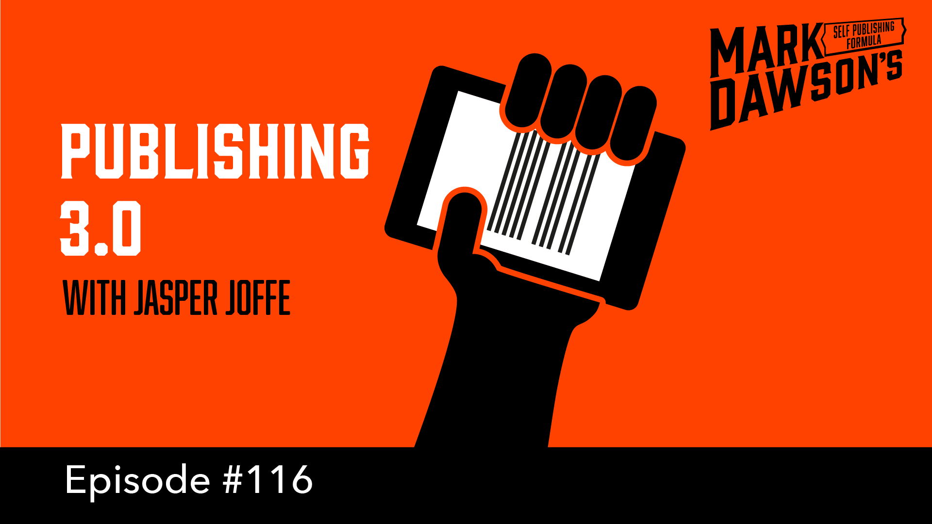 SPF-116: Publishing 3.0 – with Jasper Joffe