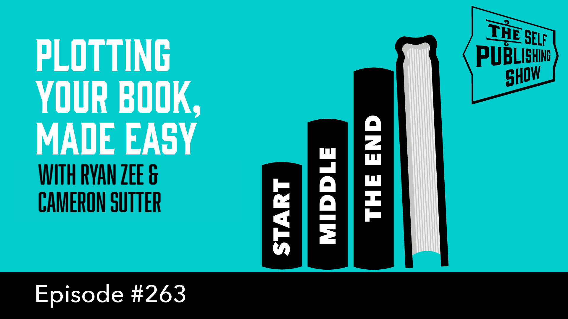 SPS-263: Plotting Your Book, Made Easy – with Ryan Zee & Cameron Sutter