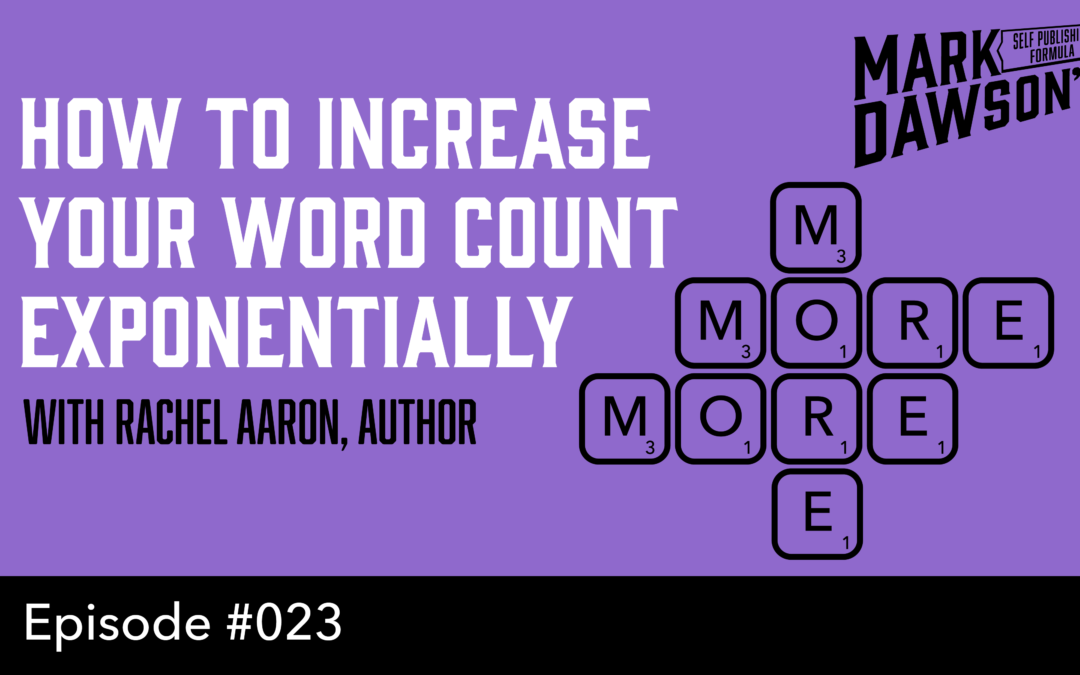SPF-023: How to Increase Your Daily Word Count Exponentially – with Rachel Aaron
