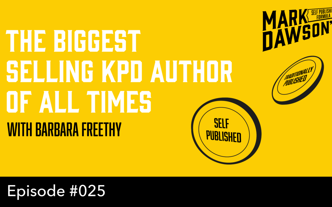 SPF-025: Interview with the biggest selling KDP author of all time – WIth Barbara Freethy