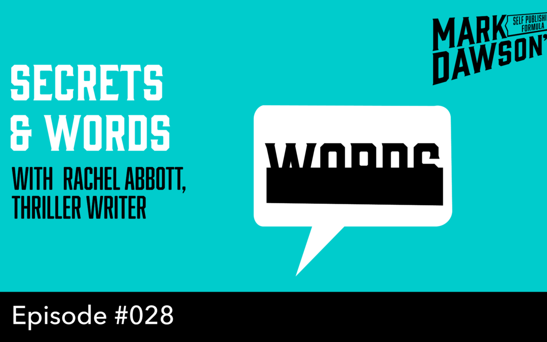 SPF-028 : Success, Marketing and Writing – With Rachel Abbott