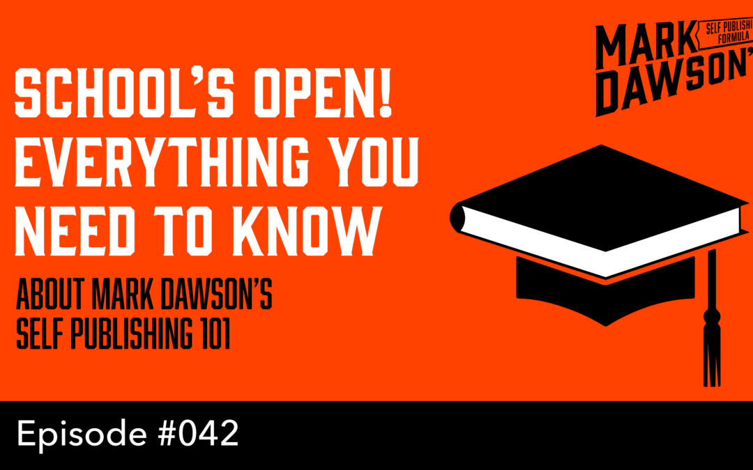 SPF-042: Self Publishing 101 – The Lowdown – With Mark Dawson