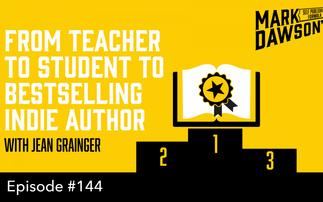 SPF-144: From Teacher to Student to Bestselling Indie Author – with Jean Grainger