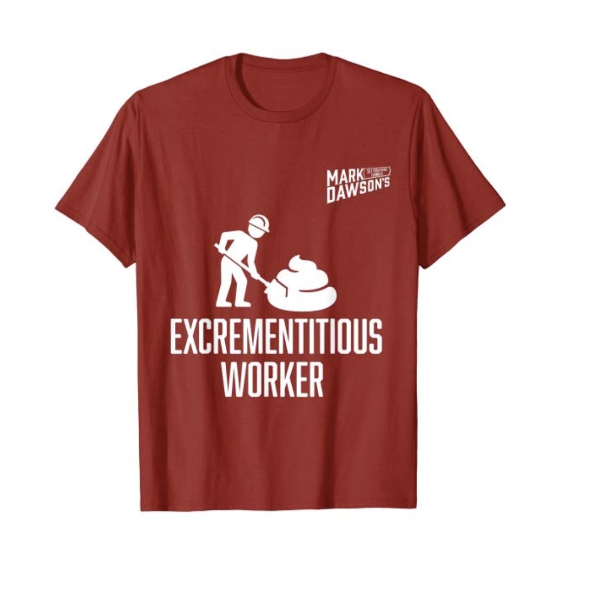E Worker T Shirt White