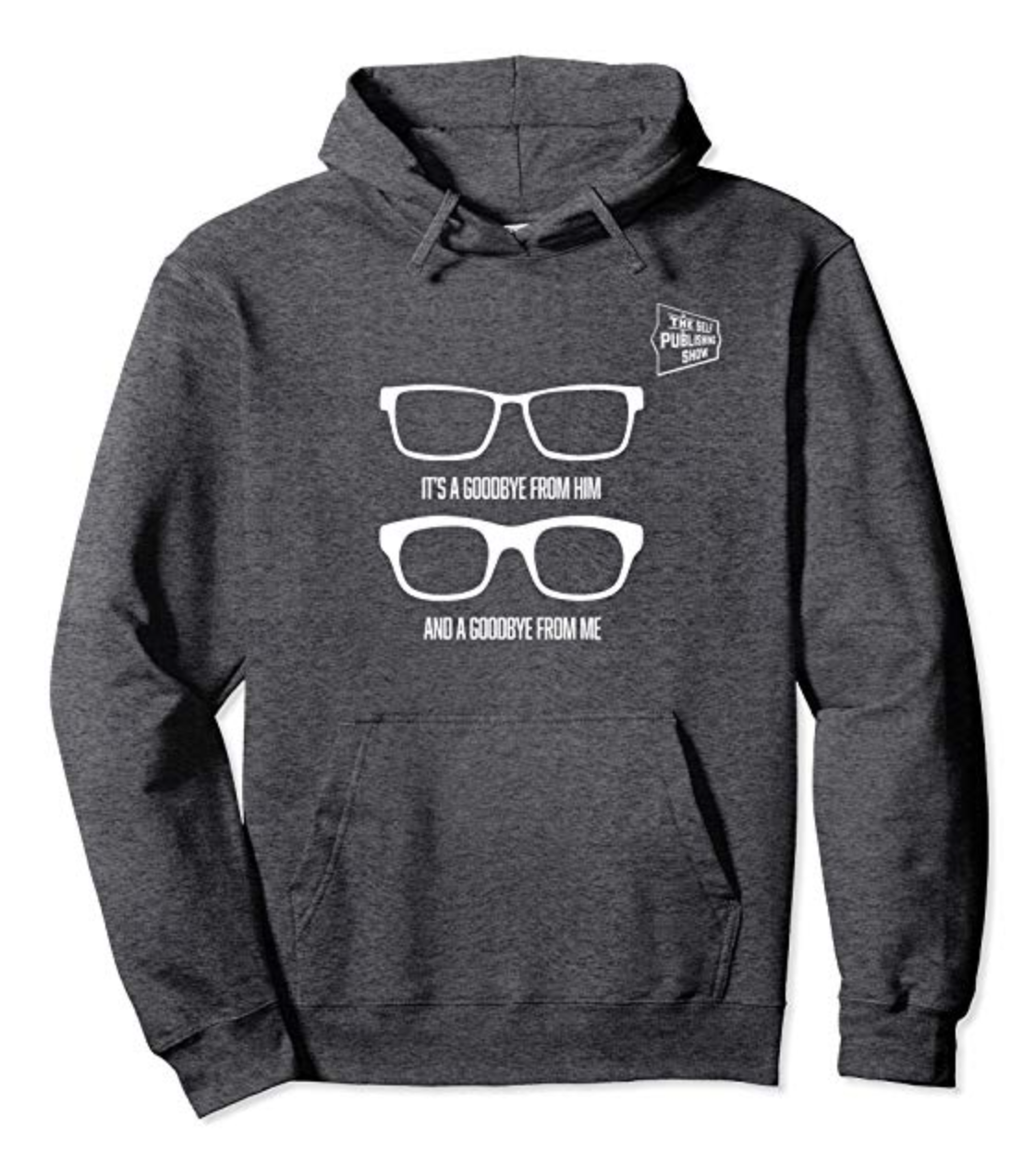 SPS Two Specs Charity Hoodie White Logo